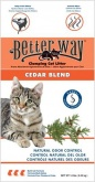 Better Way Cedar Blend комк. кедр 6,35кг